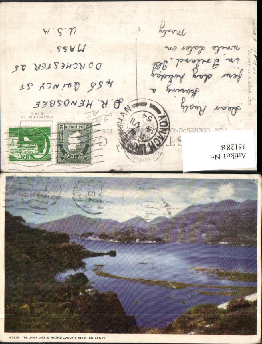 351288,Killarney The Upper Lake and Maghillicuddys Reeks See günstig online kaufen