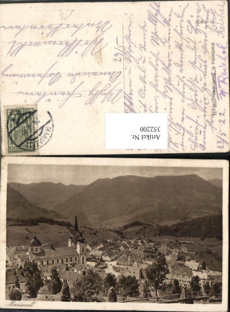352200,Mariazell Totale Bergkulisse günstig online kaufen