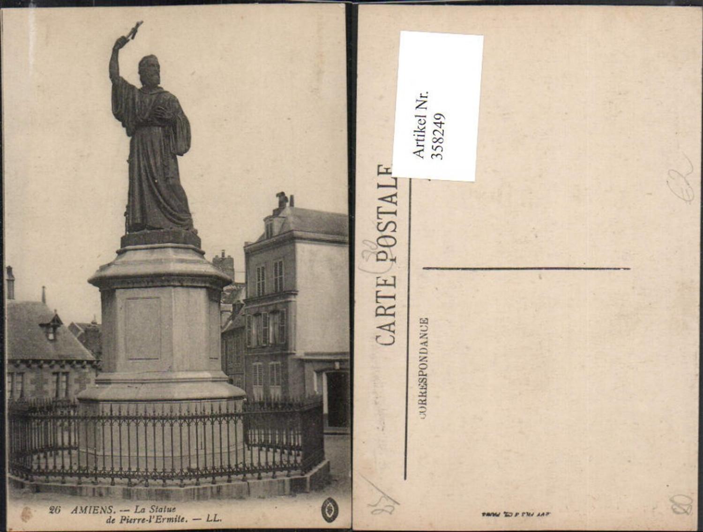 358249,Picardie Somme Amiens La Statue de Pierre Ermite Denkmal günstig online kaufen