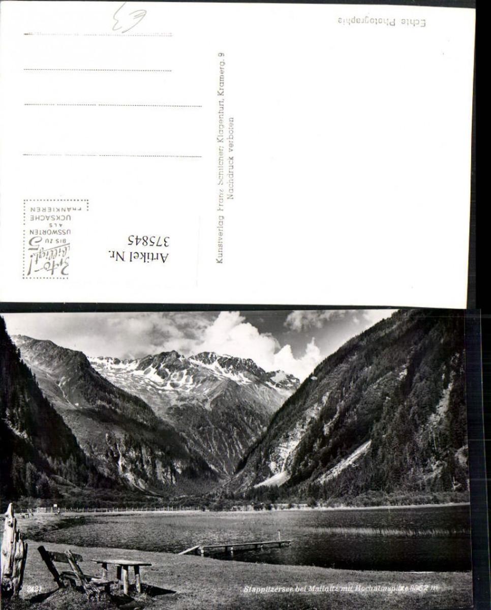 375845,Stappitzersee See b. Mallnitz m. Hochalmspitze Bergkulisse günstig online kaufen