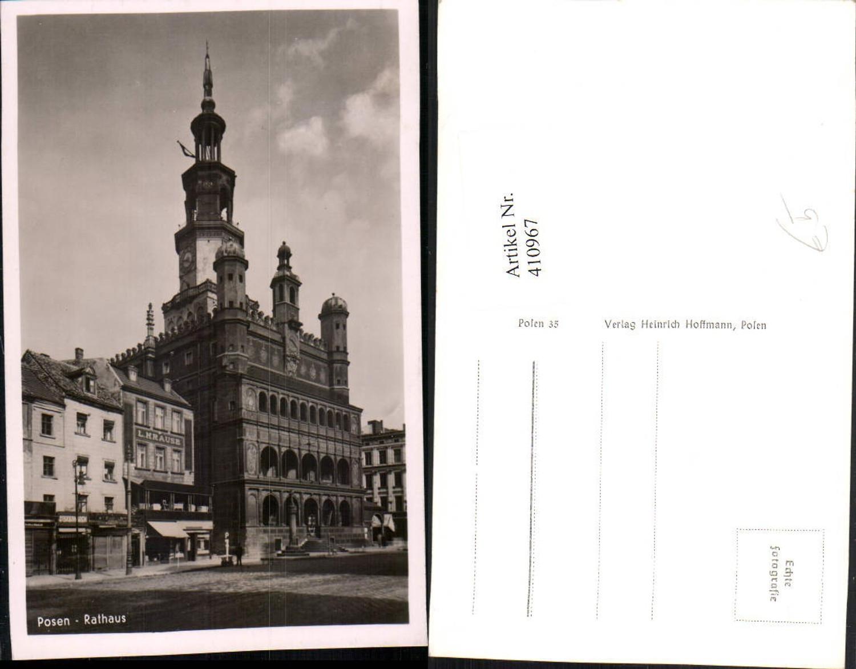 410967,Poland Posen Rathaus Gebäude günstig online kaufen