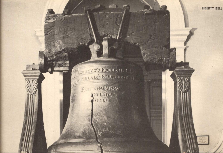 411500,Jumbo Post Card 20x25 Liberty Bell Independence Hall Philadelphia USA günstig online kaufen