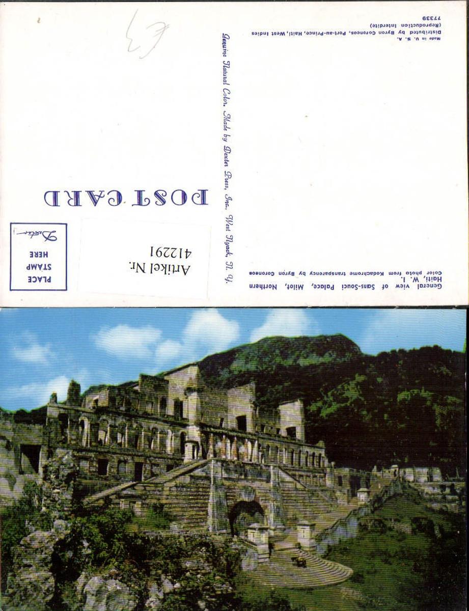 412291,Haiti Milot General view of Sans-Souci Palace Palast günstig online kaufen