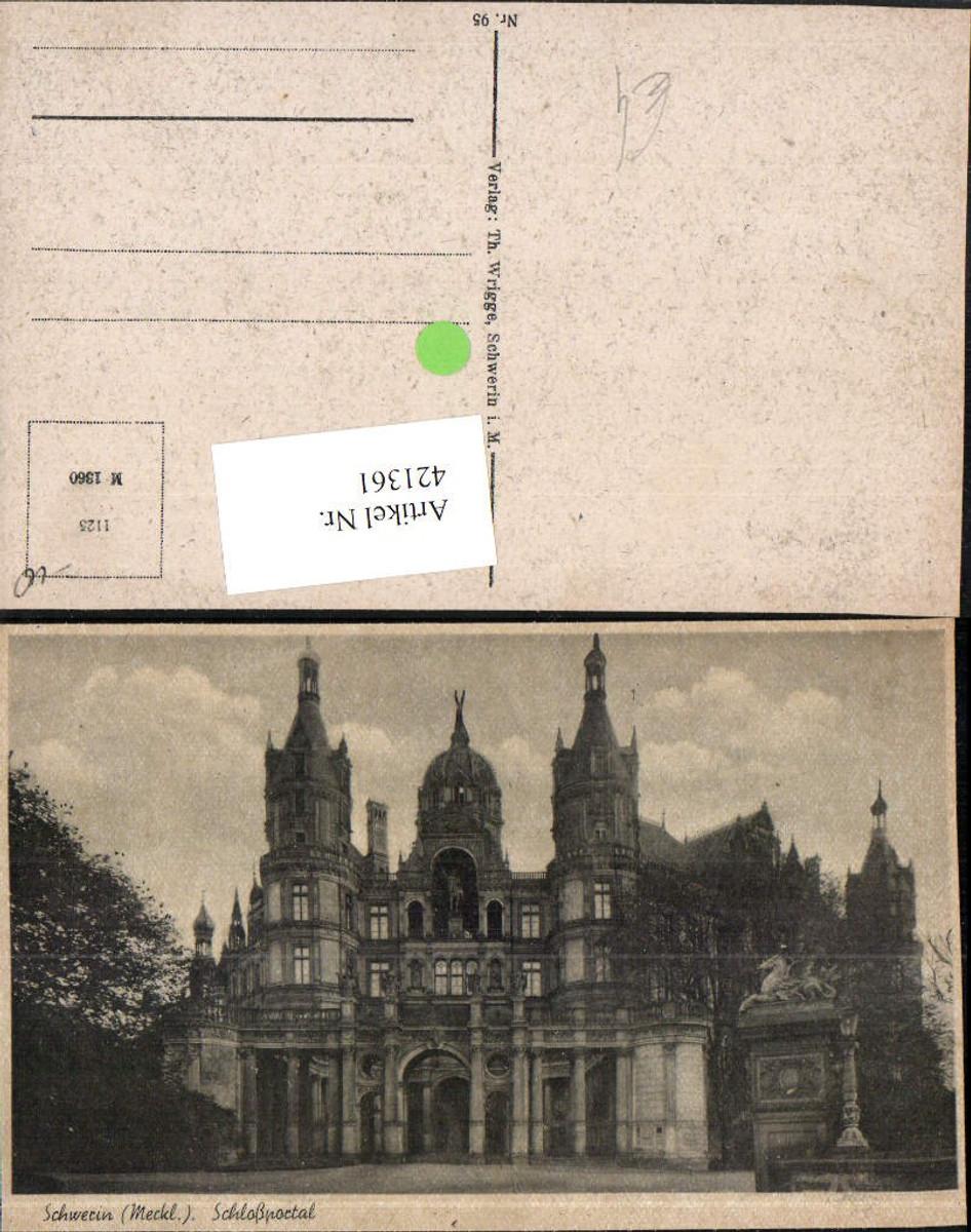 421361,Schwerin Schloss Portal günstig online kaufen