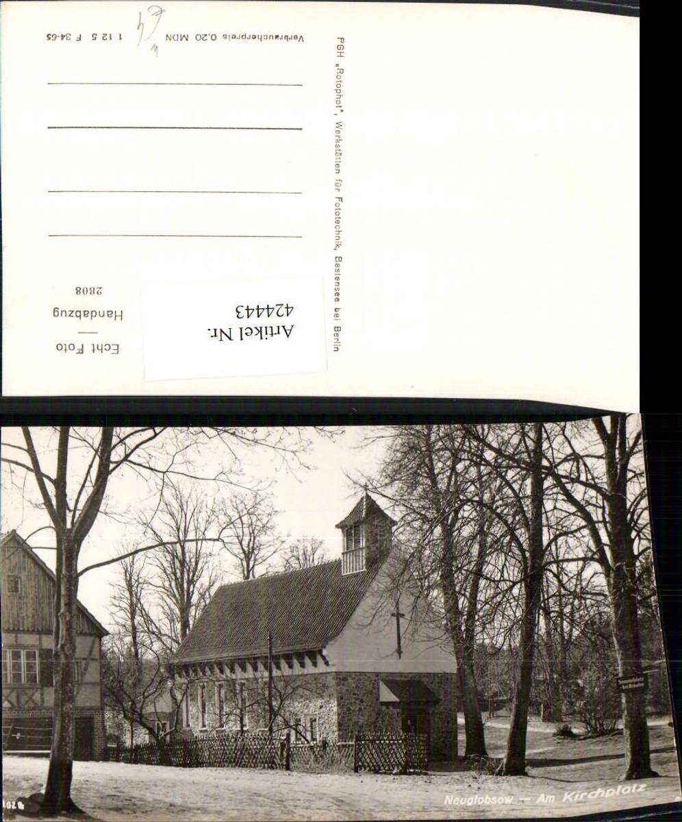 424443,Neuglobsow Kirchplatz Kapelle Kirche günstig online kaufen