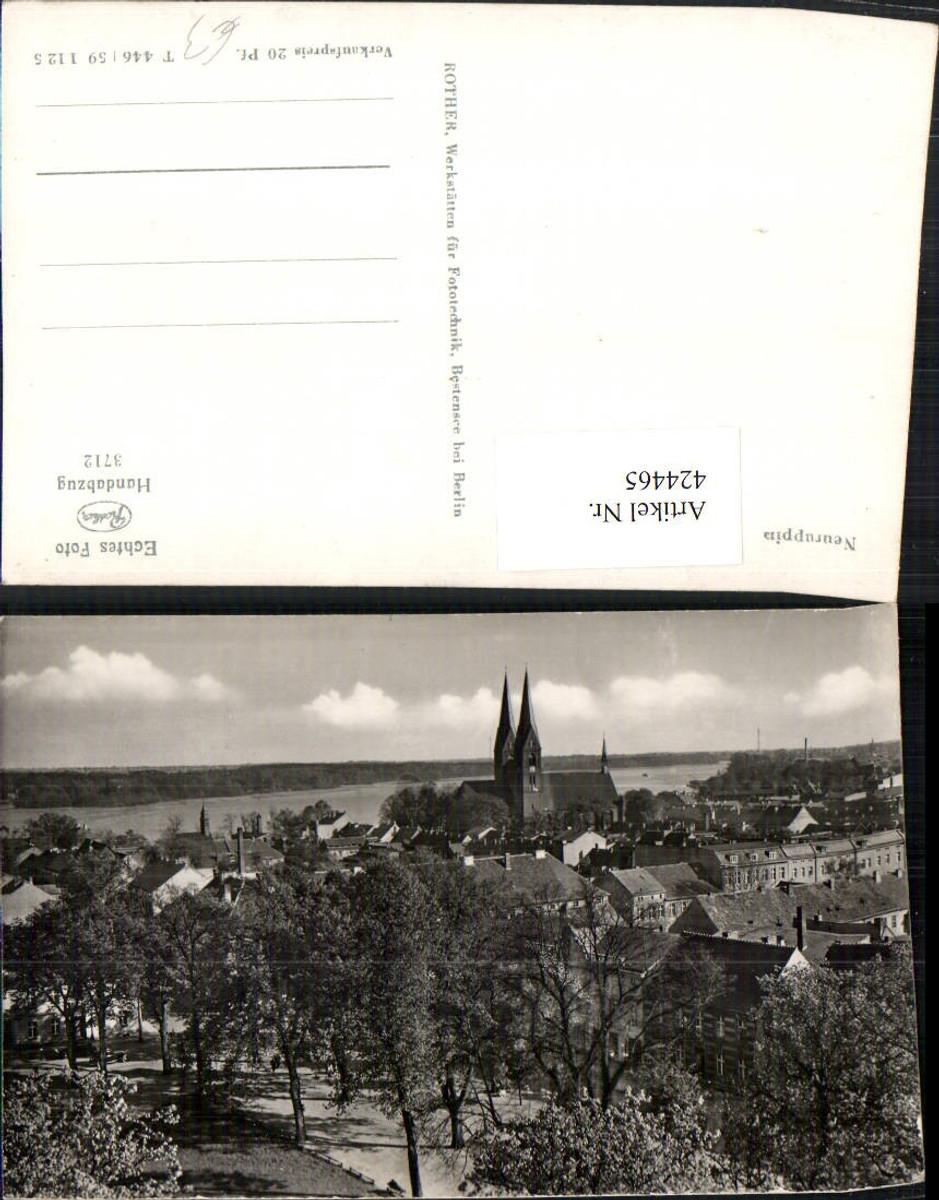 424465,Neuruppin Teilansicht Kirche günstig online kaufen