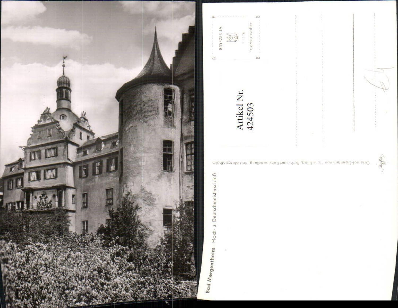 424503,Bad Mergentheim Hoch- und Deutschmeisterschloss günstig online kaufen