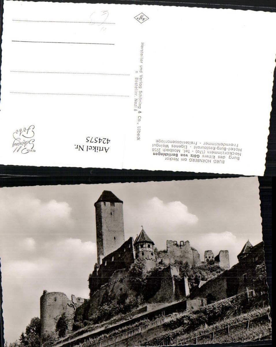 424575,Burg Hornberg am Neckar b. Neckarzimmern günstig online kaufen