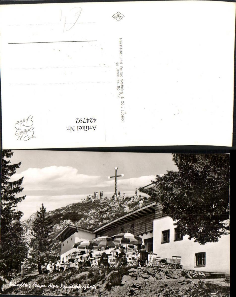 424792,Ruhpolding Rauschberghaus Berghütte Kreuz günstig online kaufen