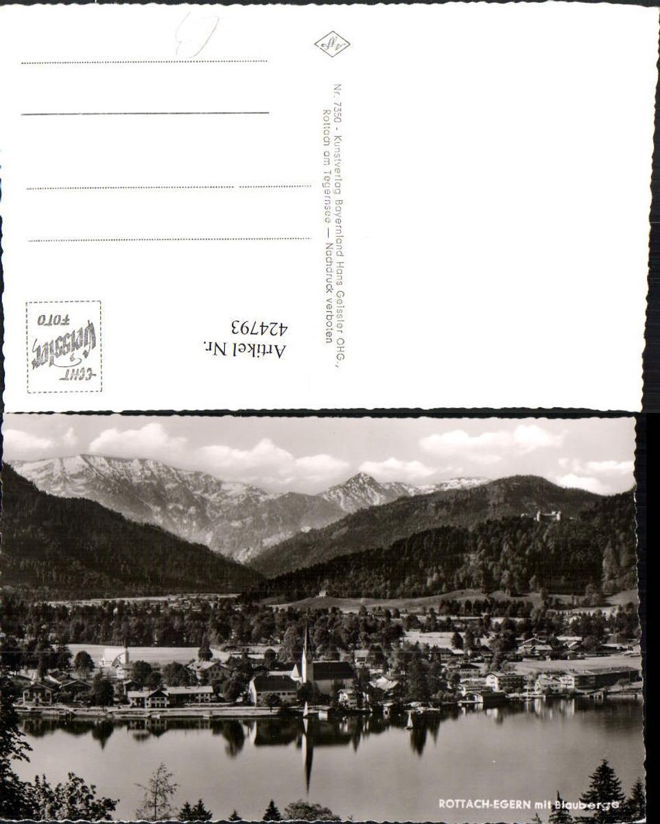 424793,Rottach-Egern am Tegernsee Totale m. Blauberge Bergkulisse günstig online kaufen