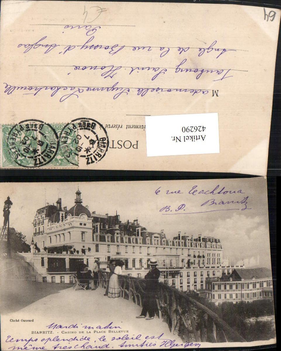 426290,Aquitanien Pyrenees-Atlantiques Biarritz Casino de la Plage Bellevue günstig online kaufen
