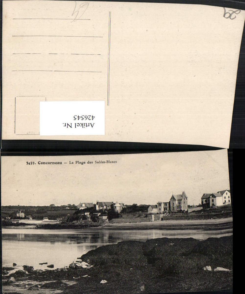 426545,Bretagne Finistere Concarneau La Plage des Sables-Blancs Küste günstig online kaufen