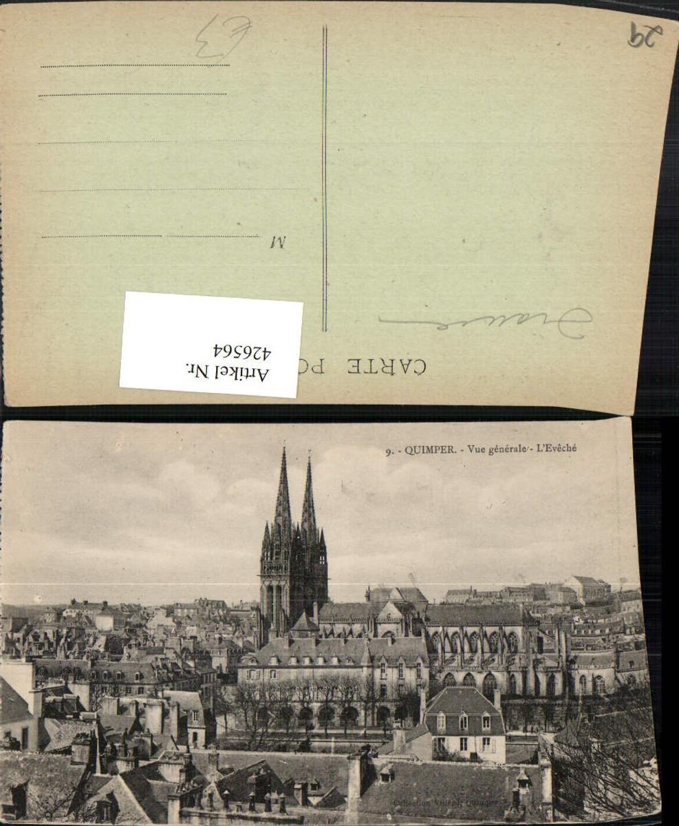426564,Bretagne Finistere Quimper Vue generale L'Eveche Totale Kirce günstig online kaufen