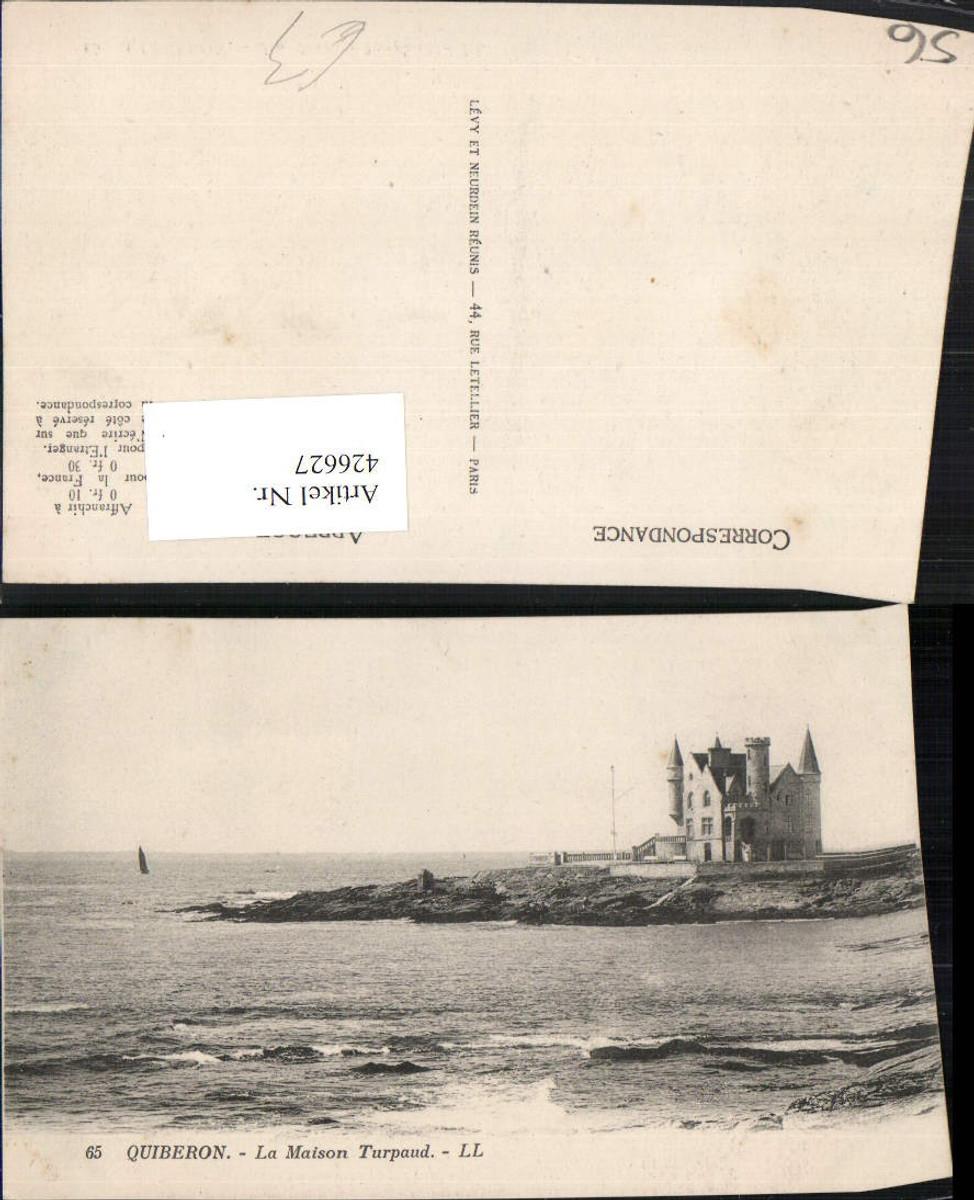 426627,Bretagne Morbihan Quiberon La Maison Turpaud Küste Schloss günstig online kaufen