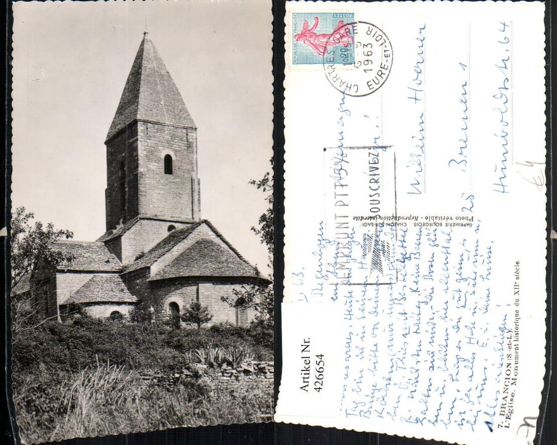 426654,Burgund Saone-et-Loire Brancion L'Eglise Monument Kirche günstig online kaufen