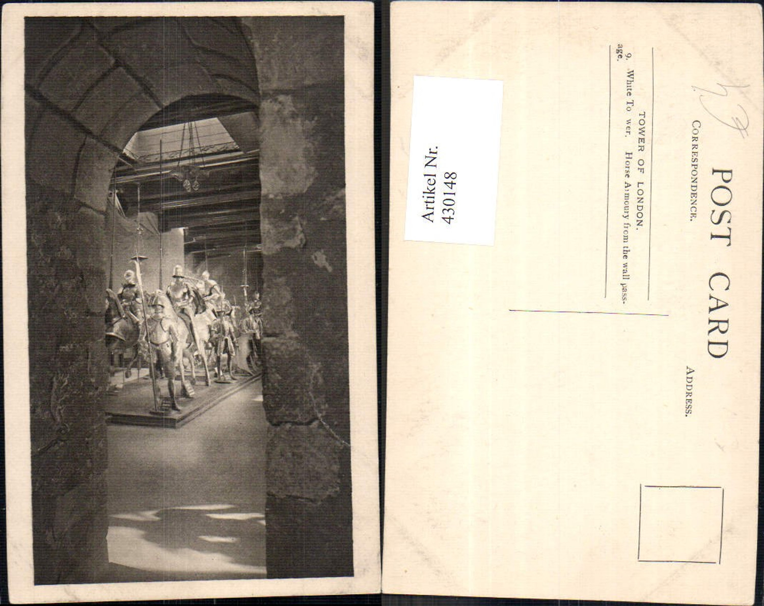 430148,Mittelalter Tower of London White Tower Horse Armoury from the wall passage günstig online kaufen