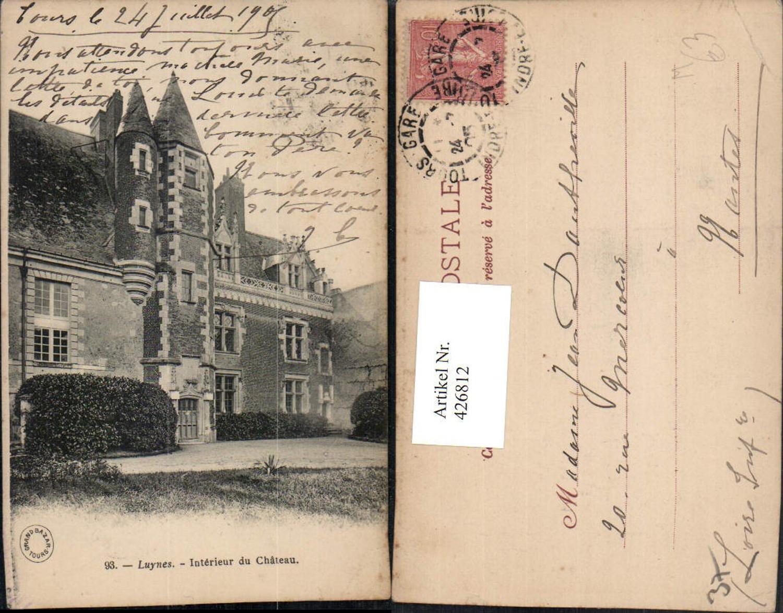 426812,Centre Indre-et-Loire Luynes Interieur du Chateau Schloss günstig online kaufen