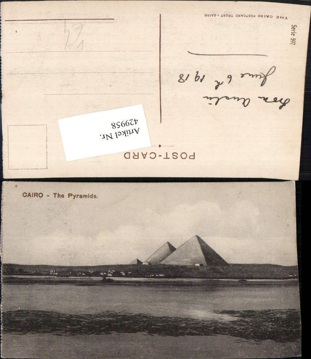 429958,Egypt Cairo Kairo Pyramids Pyramiden pub Postcard Trust 597 günstig online kaufen