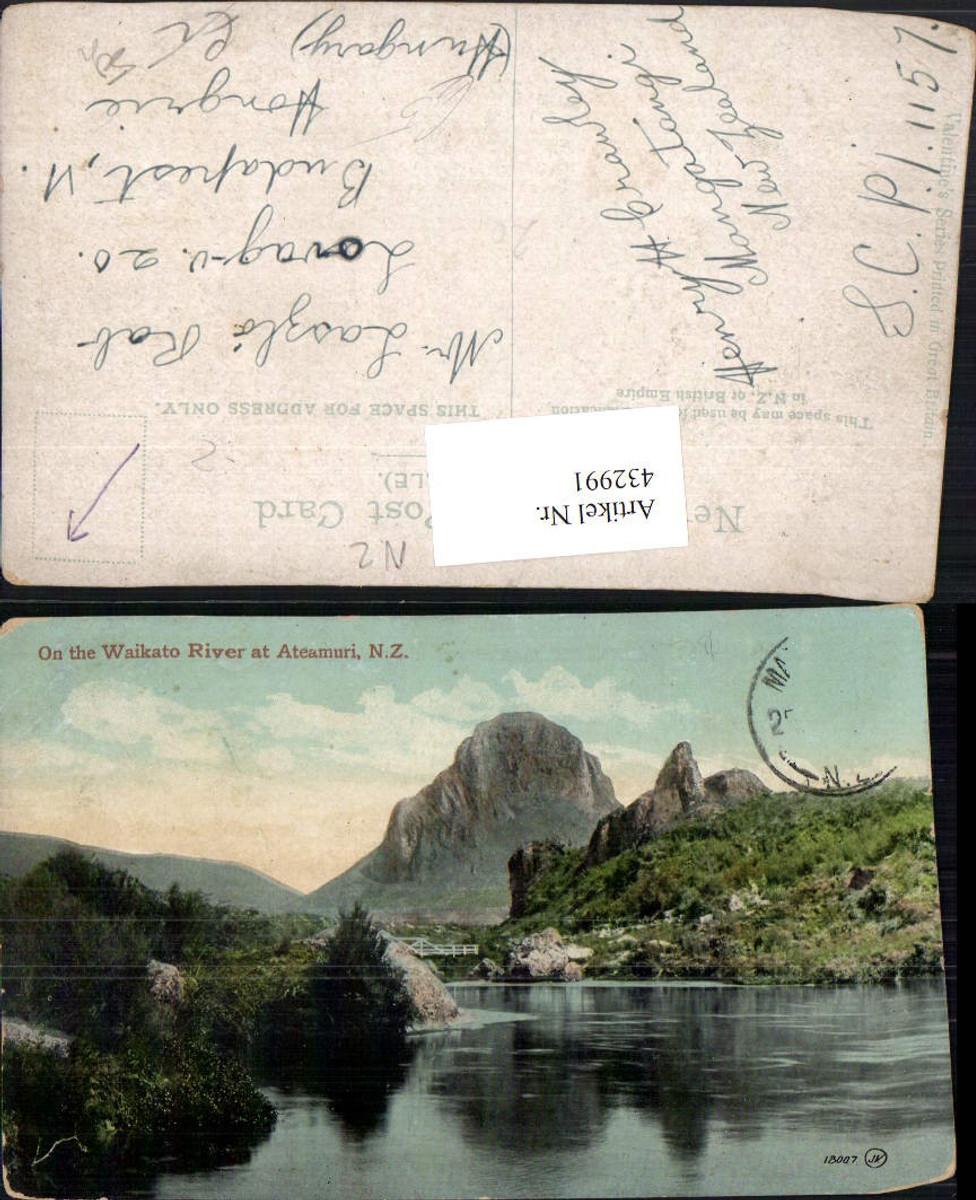432991,New Zealand Neuseeland On the Waikato River at Ateamuri Fluss günstig online kaufen