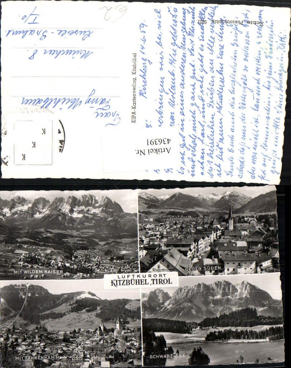 436391,Kitzbühel Totale Schwarz-See Bergkulissen Mehrbildkarte günstig online kaufen