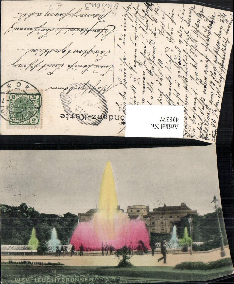 438377,Wien Wieden Leuchtbrunnen Brunnen günstig online kaufen