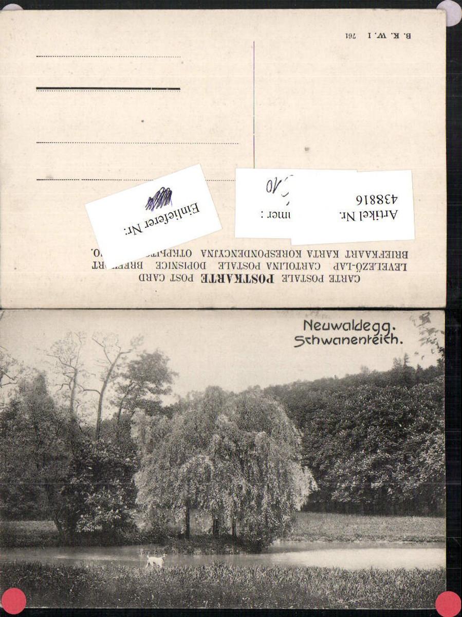 438816,Wien Hernals Neuwaldegg Schwanenteich Partie pub B.K.W.I. 761 günstig online kaufen