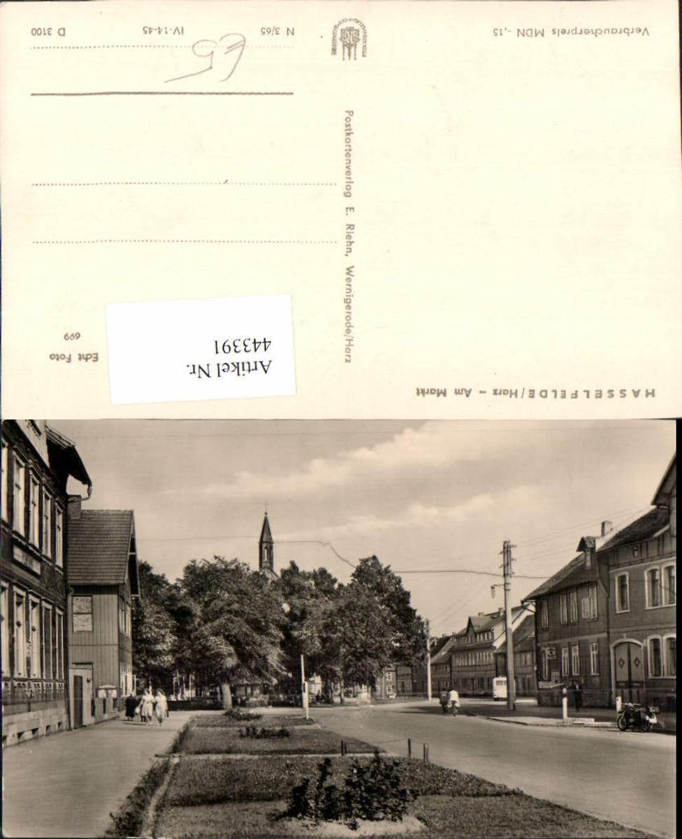 443391,Hasselfelde im Harz Am Markt Straßenansicht günstig online kaufen
