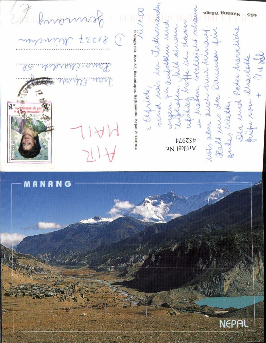 452974,Nepal Manang Totale Bergkulisse günstig online kaufen