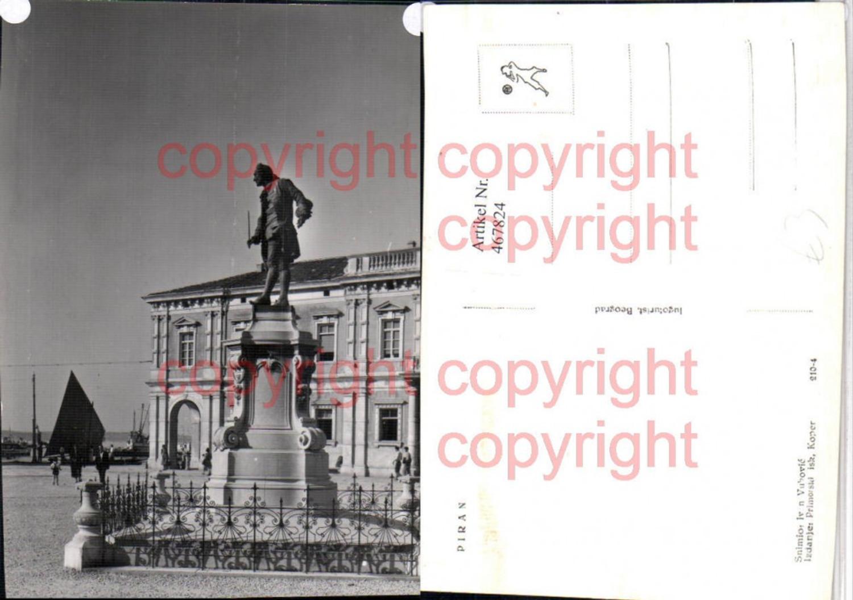 467824,Slovenia Piran Denkmal Statue günstig online kaufen