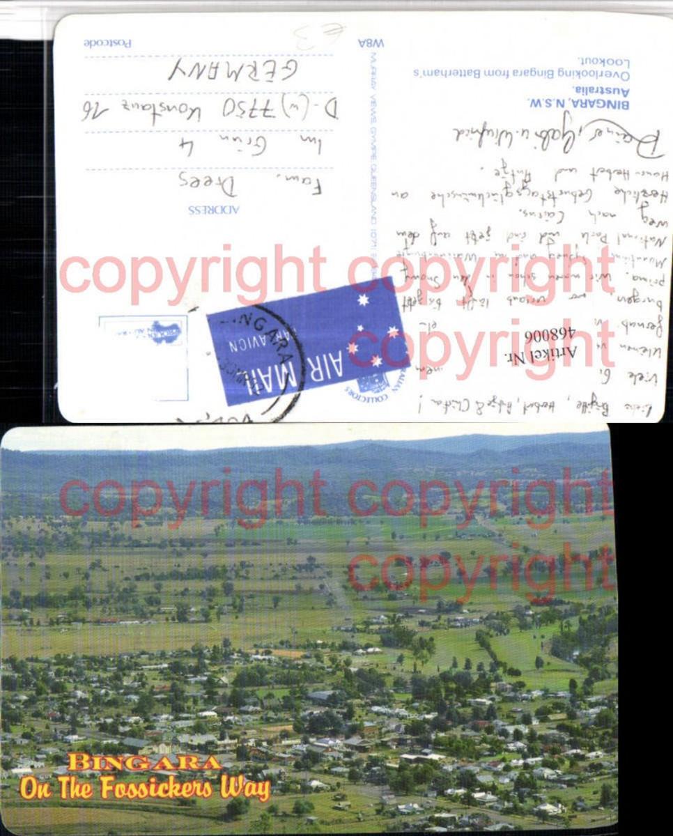 468006,Australia New South Wales Bingara Totale from Batterhams Lookout günstig online kaufen