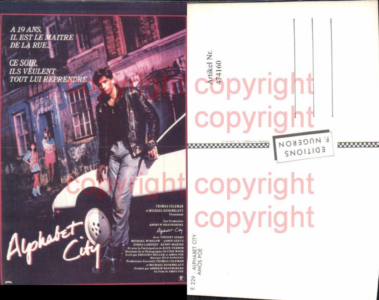 474160,Film Reklame Alphabet City Amos Poe Michael Rosenblatt Vincent Spano Michael Winslow günstig online kaufen