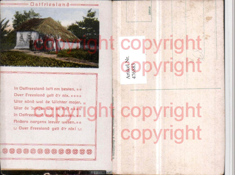 476883,Ostfriesland Haus Hütte Spruch Text günstig online kaufen