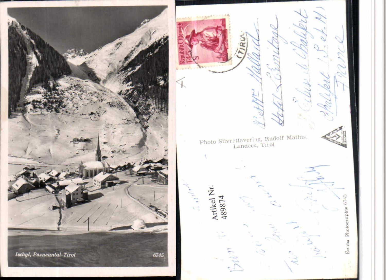 489874,Ischgl Totale Bergkulisse Winterbild günstig online kaufen