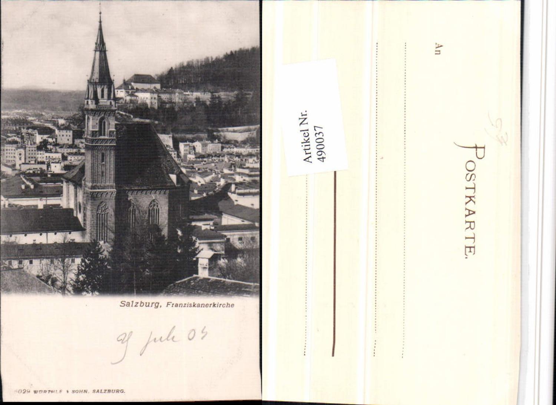 490037,Salzburg Franziskanerkirche Kirche günstig online kaufen