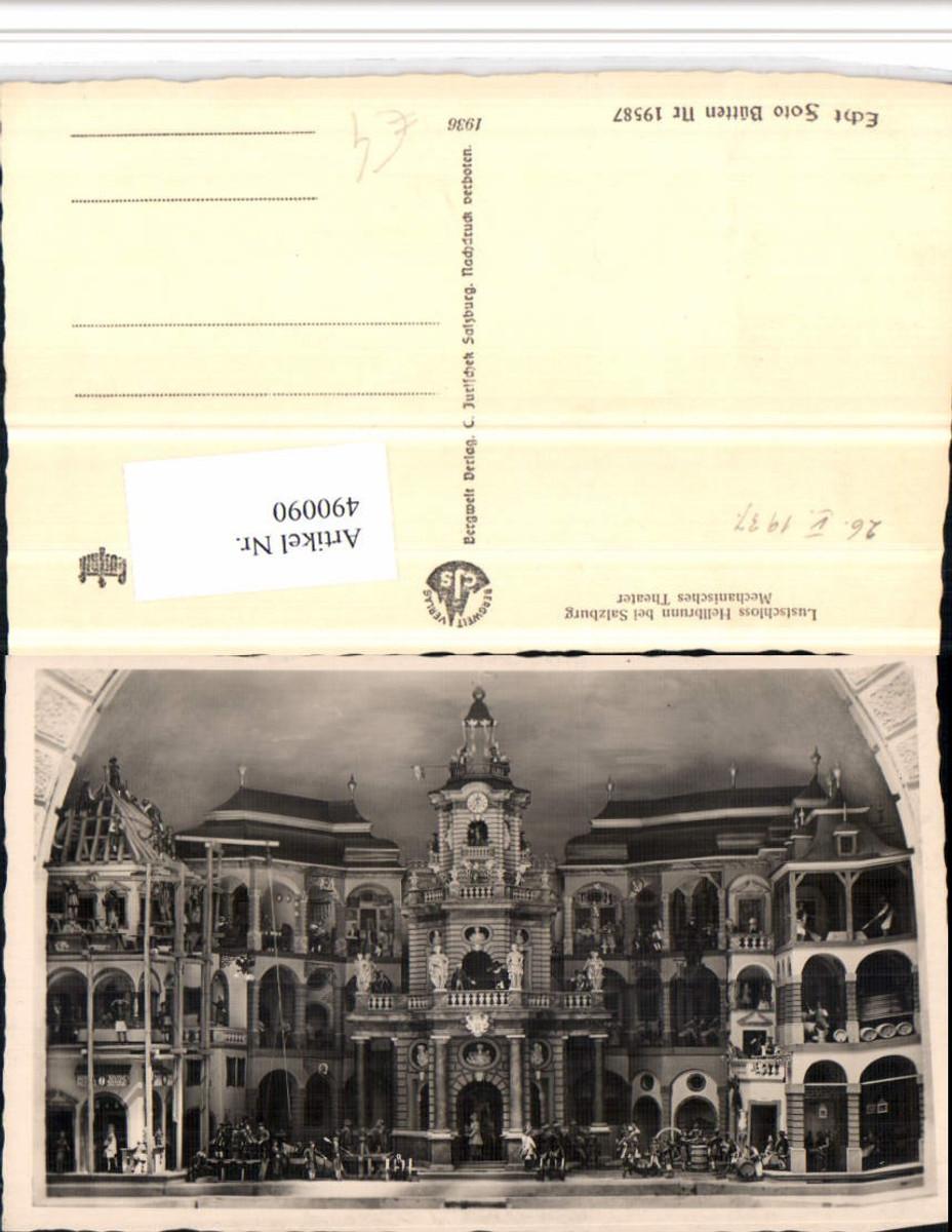 490090,Salzburg Hellbrunn Schloss Mechanisches Theater günstig online kaufen