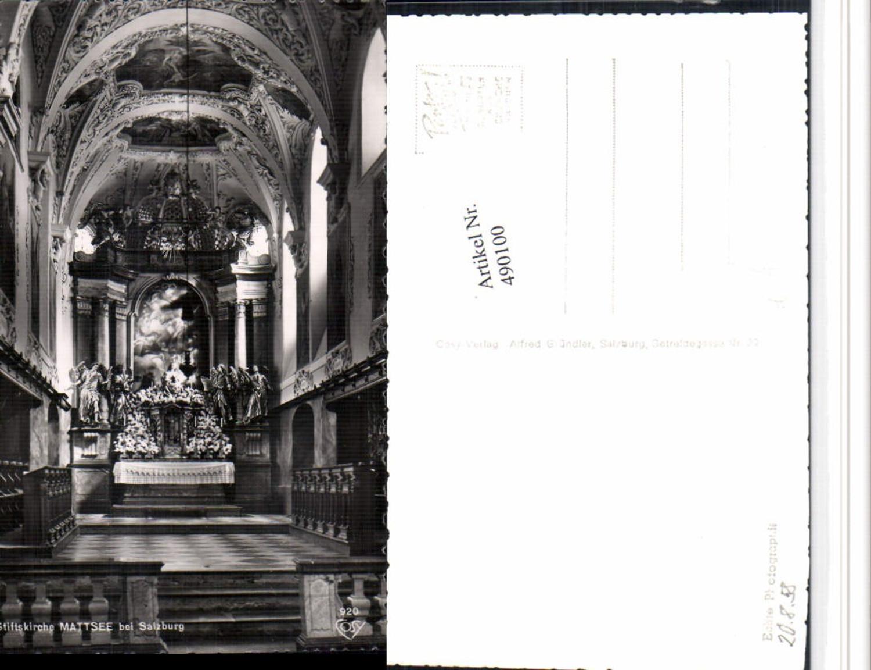 490100,Mattsee b. Salzburg Stiftskirche Kirche Innenansicht pub Cosy 920 günstig online kaufen