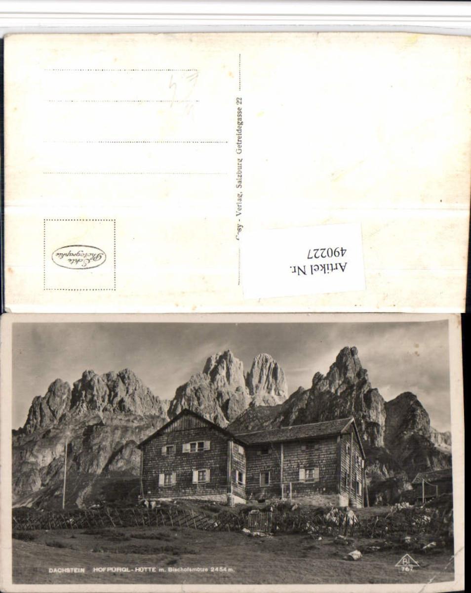 490227,Hofpürgl-Hütte Berghütte b. Filzmoos m. Bischofsmütze Bergkulisse günstig online kaufen