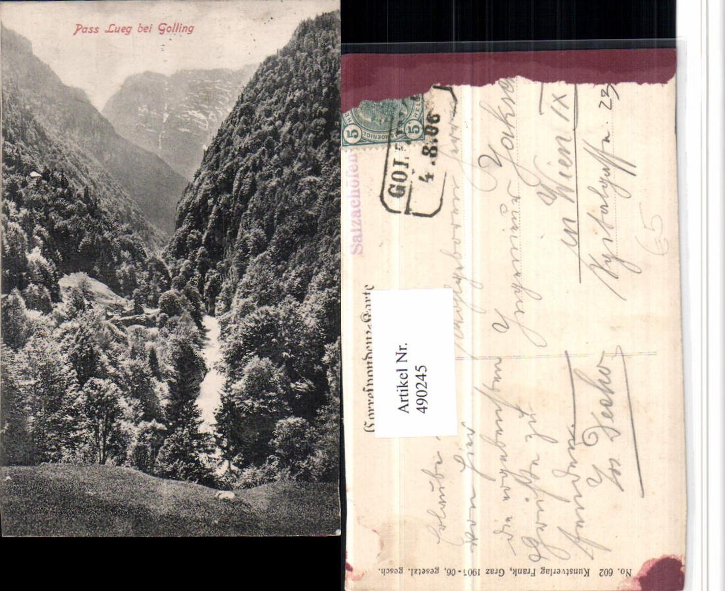 490245,Pass Lueg b. Golling Bergkulisse günstig online kaufen