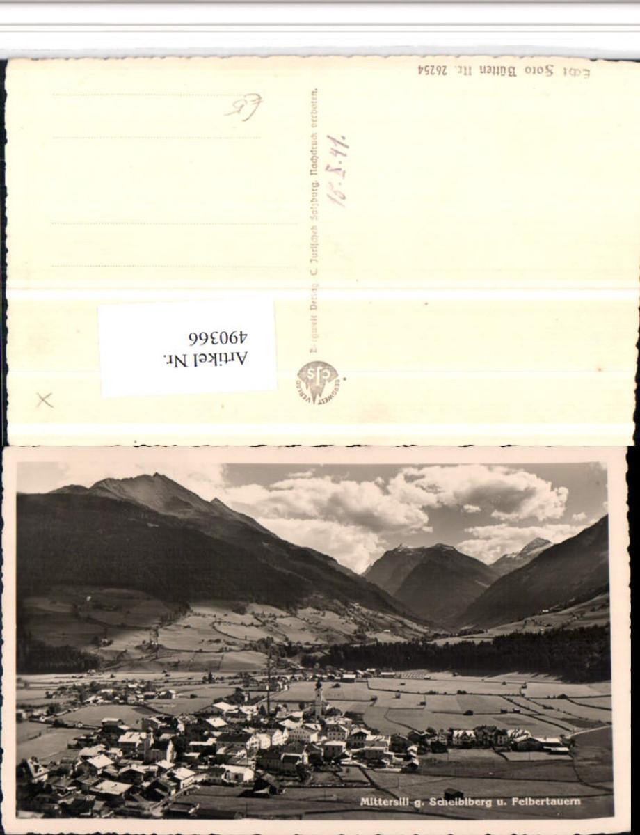 490366,Mittersill Totale geg. Scheiblberg Bergkulisse günstig online kaufen