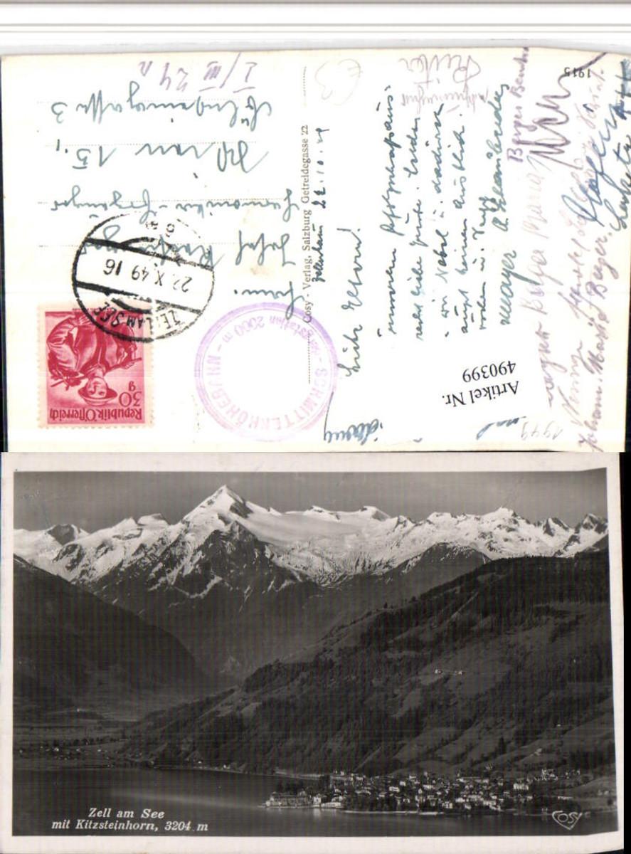 490399,Zell am See Totale m. Kitzsteinhorn Bergkulisse pub Cosy günstig online kaufen
