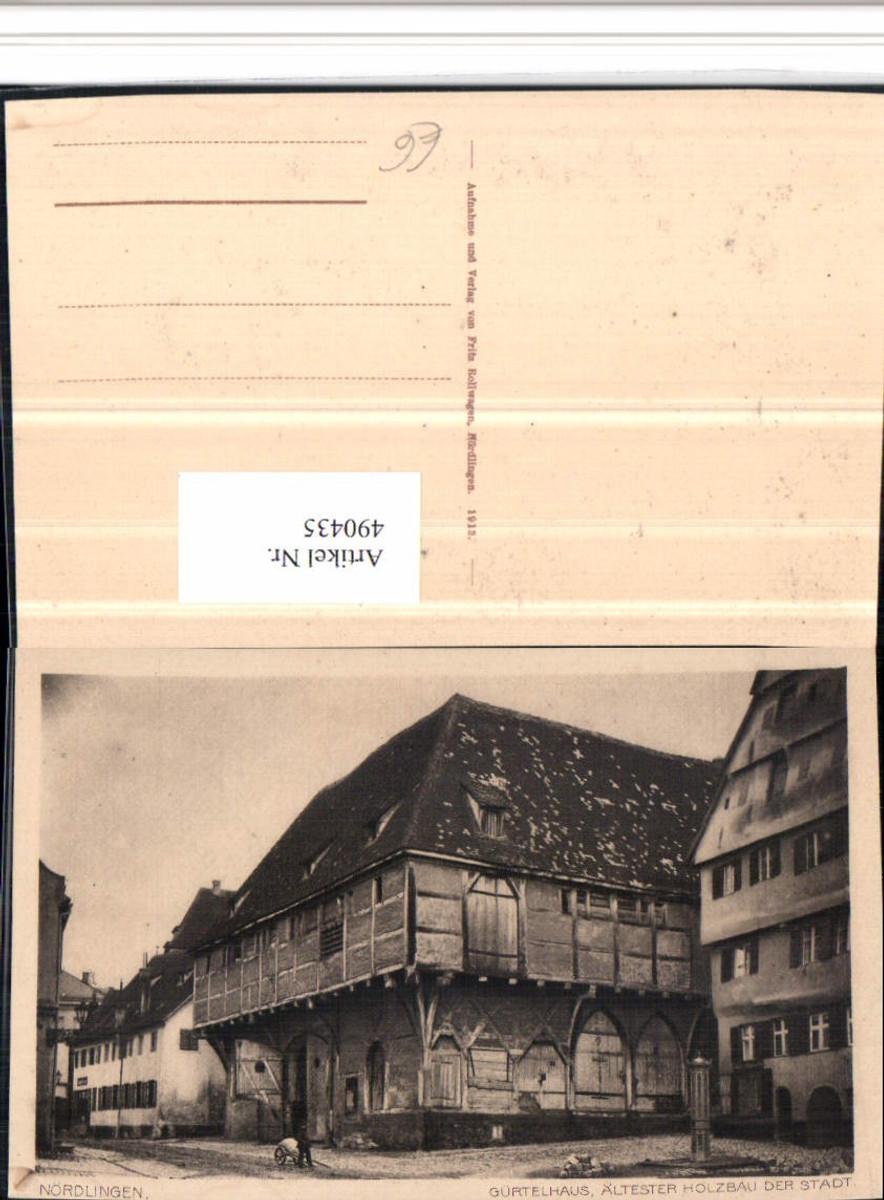 490435,Nördlingen Gürtelhaus Gebäude günstig online kaufen