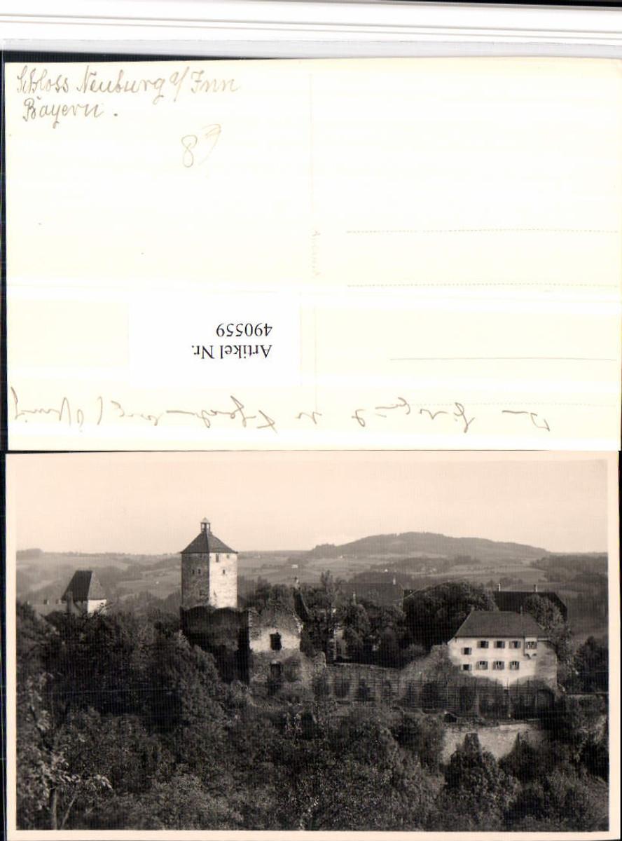490559,Foto AK Schloss Neuburg am Inn günstig online kaufen