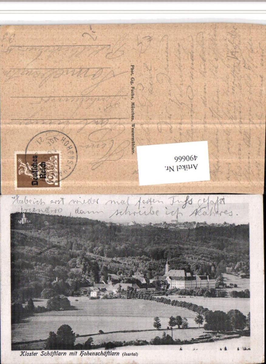 490666,Kloster Schäftlarn m. Hohenschäftlarn im Isartal günstig online kaufen
