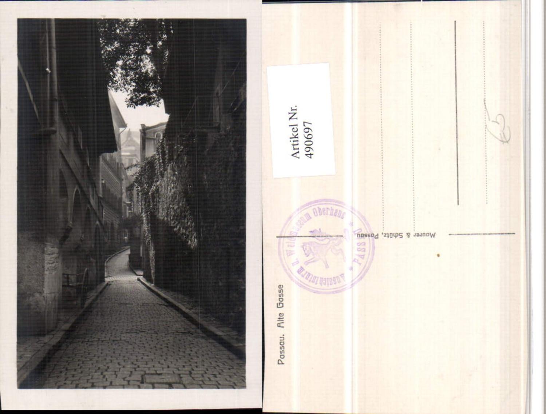 490697,Passau Alte Gasse Straßenansicht günstig online kaufen
