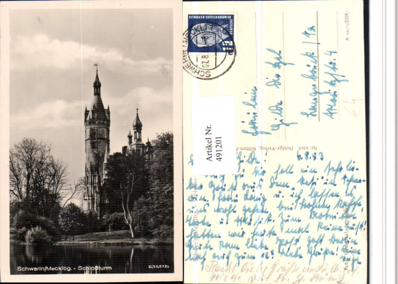 491201,Schwerin Schloss Turm günstig online kaufen