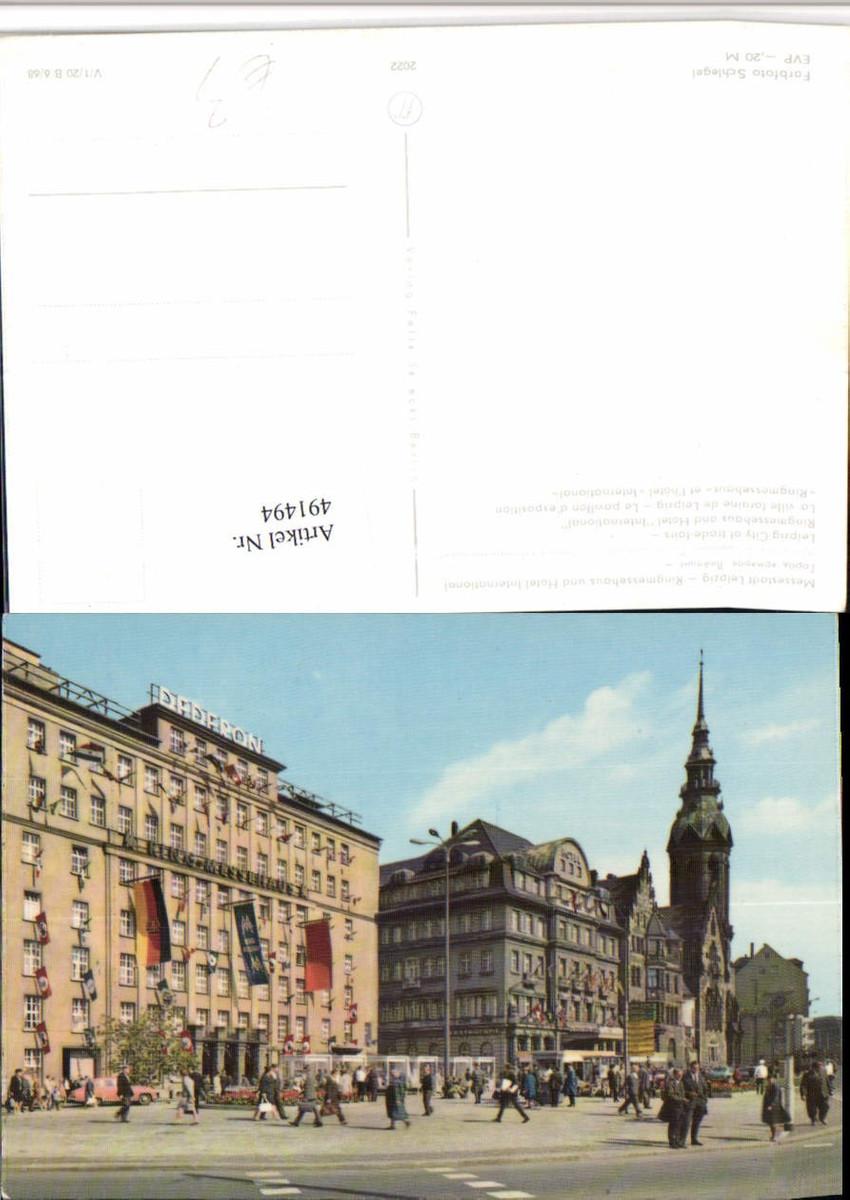 491494,Leipzig Ringmessehaus u. Hotel International günstig online kaufen