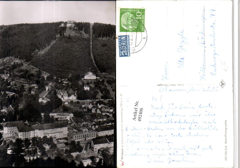 492406,Wildbad im Schwarzwald Teilansicht m. Sommerberg günstig online kaufen