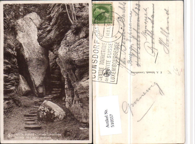 510557,Luxembourg Suisse Luxembourgeoise Entree des Sept Gorges Schlucht günstig online kaufen