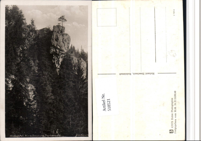 518521,Frankenwald Höllental Hirschsprung günstig online kaufen