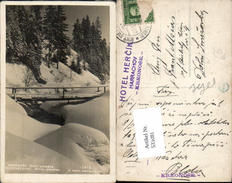 533081,Krkonose Riesengebirge Winterpartie Harrachov Semily Liberec günstig online kaufen